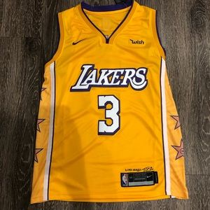 Anthony Davis Lakers City Edition Swingman Jersey